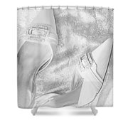 On Her Wedding Day Shower Curtain