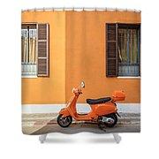 On Orange Street Shower Curtain