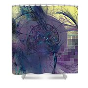 On Psychic Energy Shower Curtain