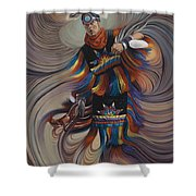 On Sacred Ground Series II Shower Curtain