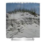 On Sand Island Shower Curtain