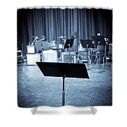 On Stage Shower Curtain