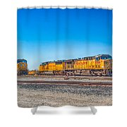 On Standby Shower Curtain