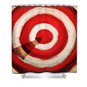 On Target Shower Curtain by Don Hammond
