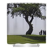 On The Banks Of The Baltic Sea Shower Curtain by Heiko Koehrer-Wagner