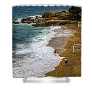 On The Beach - Dubrovnic Shower Curtain