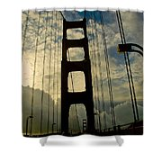 On The Bridge Shower Curtain