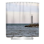 On The End Shower Curtain