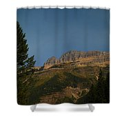On The Going To The Sun Road  Shower Curtain