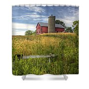 On The Hilltop Shower Curtain