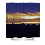 On The Jetty Shower Curtain