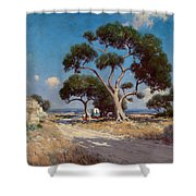 On The Old Blanco Road Southwest Texas Shower Curtain