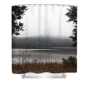 On The Platte Shower Curtain