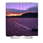 On The Playa Shower Curtain