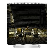 On The Porch Shower Curtain