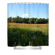 On The Prairie #5 Shower Curtain