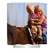 On The Ranch Shower Curtain