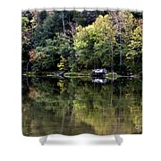 On The River Four Shower Curtain