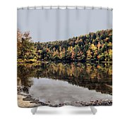 On The River Two Shower Curtain
