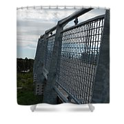 On The Riverfront 1 Shower Curtain