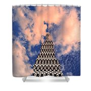 On The Riviera Stairway To Heaven Palm Springs Shower Curtain