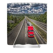 On The Road Again E61 Shower Curtain