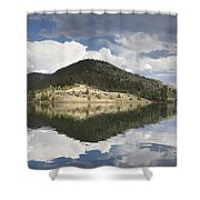 On The Road To York Shower Curtain