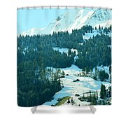 On The Rock Shower Curtain
