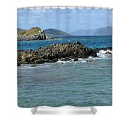 On The Rocks 02 Shower Curtain