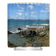 On The Rocks 03 Shower Curtain