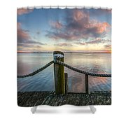 On The Ropes Shower Curtain
