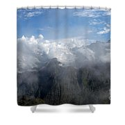On The Top Of The World... Shower Curtain