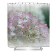 On The Verge Of Pink Shower Curtain