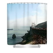 On The Way Back To San Francisco Shower Curtain