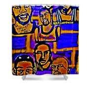 Once A Laker... Shower Curtain
