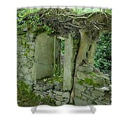 Window On The Lane Shower Curtain
