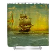 Once In A Bottle Shower Curtain by Jeff Burgess