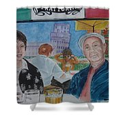 Joy And Frank Once Upon A Time In Tuscany Shower Curtain