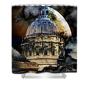 Once Upon A Time On A Warm Summers Night In San Francisco 5d22548 Shower Curtain