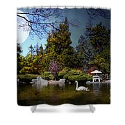 Once Upon A Time Under The Moon Lit Night . 7d12782 Shower Curtain