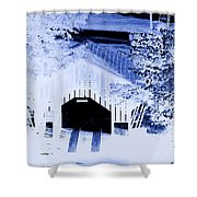 Once Upon A Winter's Eve Shower Curtain