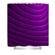 Ondulation-01 Shower Curtain