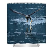 One-armed Bandit Shower Curtain
