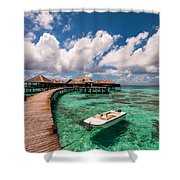 One Day At Heaven Shower Curtain