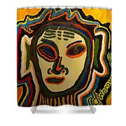 One Eyed Mystery Women Shower Curtain