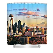One Fine Skyline Shower Curtain