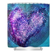 One Heart One Earth Shower Curtain