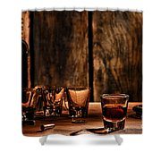 One Last Drink Shower Curtain