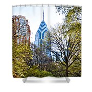 One Liberty Place Shower Curtain