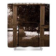 One Man Show Shower Curtain